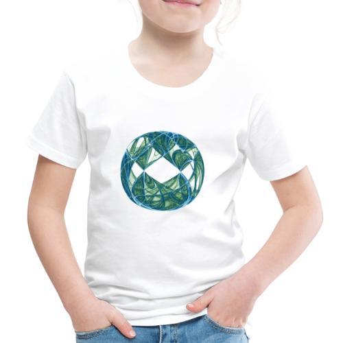 Harmonie im Ozean der Elemente 446oce - Kinder Premium T-Shirt