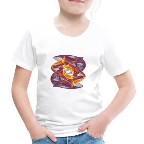 Auge im Inferno 7247i - Kinder Premium T-Shirt