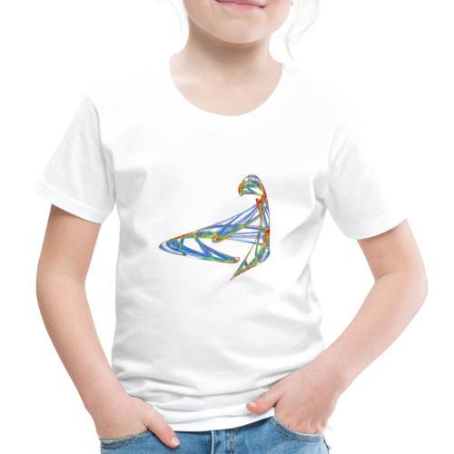 Fröhliches Farbenspiel 853 jet - Kinder Premium T-Shirt