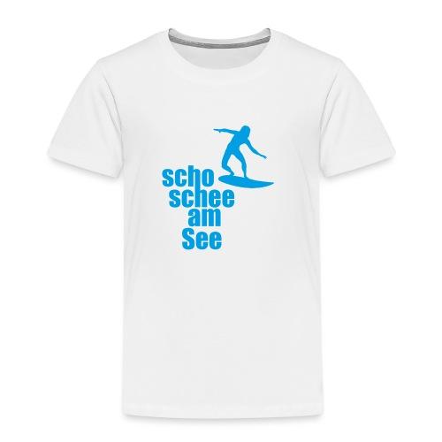 scho schee am See Surfer 04 - Kinder Premium T-Shirt