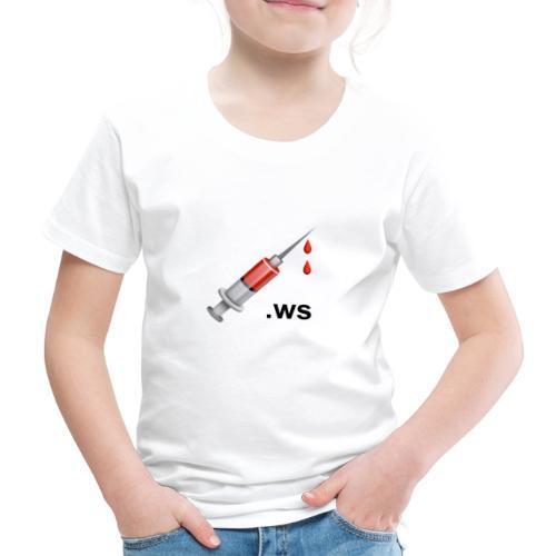 Spritze, 💉.ws - Kinder Premium T-Shirt