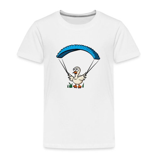 Groundhendl Groundhandling Hendl Paragliding Huhn - Kinder Premium T-Shirt