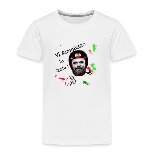 Vi ammazzo la testa - Maglietta Premium per bambini