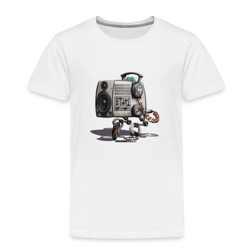 The S.O.U.N.D. Robot! - Børne premium T-shirt