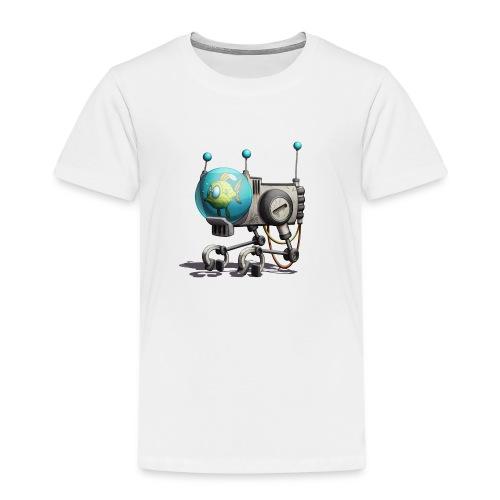 The B.U.B.B.L.E. Robot! - Børne premium T-shirt