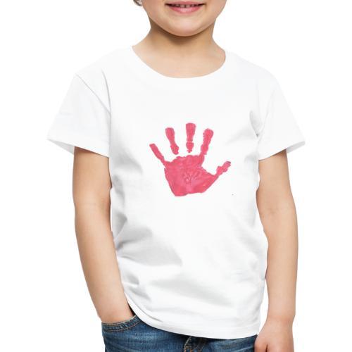 Hand - Premium-T-shirt barn