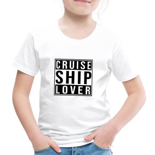 Kreuzfluenzer - Cruise Ship Lover - Kinder Premium T-Shirt