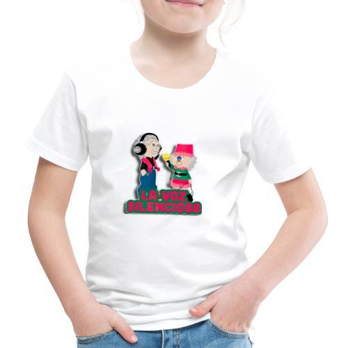 La voz silenciosa - Jose y Arpelio - Camiseta premium niño