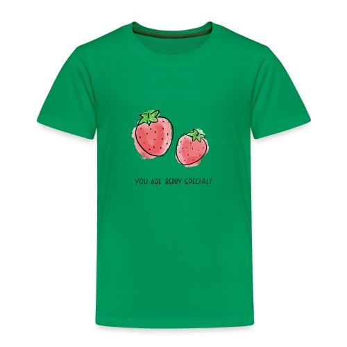 Fruit Puns n°1 Berry Special - Kinder Premium T-Shirt