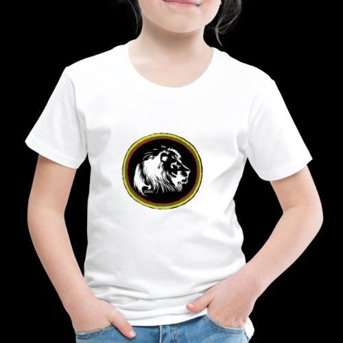 LION HEAD SISSOR CUT UNDERGROUND SOUNDSYSTEM - Kinder Premium T-Shirt
