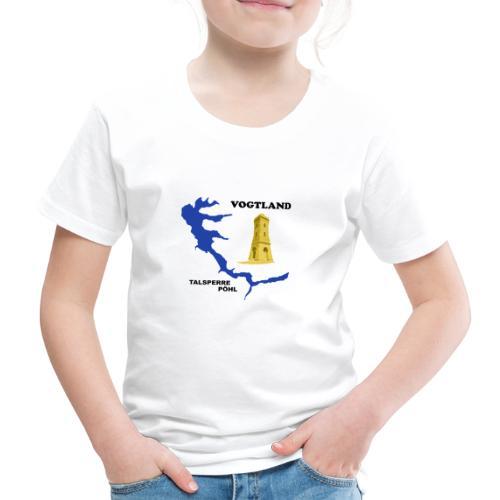 Pöhl Talsperre Mosenturm Vogtland Sachsen - Kinder Premium T-Shirt