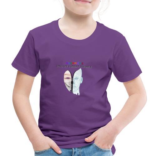 Guerrière dans un combat invisible 02 - T-shirt Premium Enfant