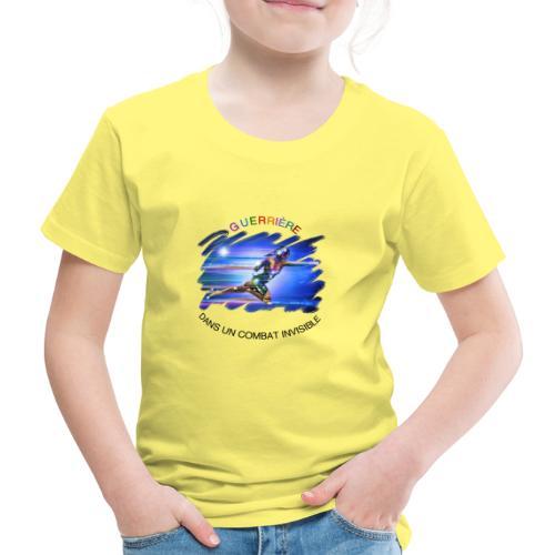 Guerrière dans un combat invisible - T-shirt Premium Enfant