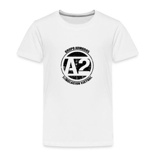 A2 Logo Envejecido - Camiseta premium niño