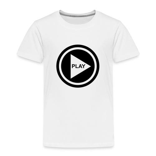 Play Button - Kinder Premium T-Shirt