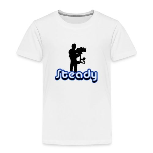 camusedesignsteadicameenvoudtekst2kleur - Kinderen Premium T-shirt