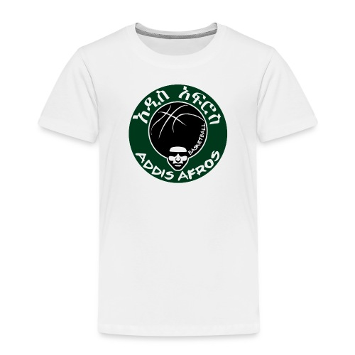 Afros greencicrcle bb - Kinder Premium T-Shirt