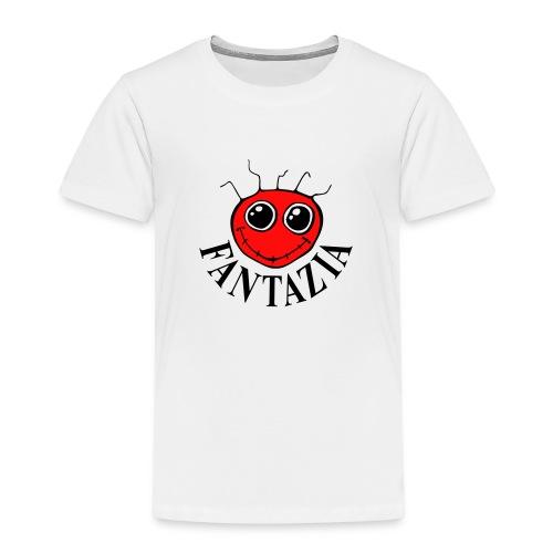 2 Colour Fantazia Smiley Face - Kids' Premium T-Shirt