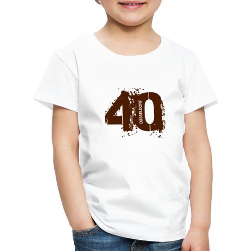 City_40_Düsseldorf - Kinder Premium T-Shirt