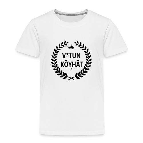 vitun köyhät - Lasten premium t-paita