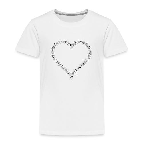 Music of Life Ladies Fitted - Kids' Premium T-Shirt