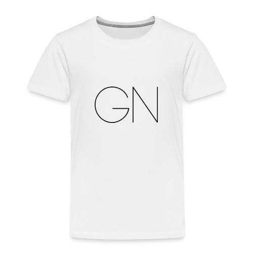 Långärmad tröja GN slim text - Premium-T-shirt barn