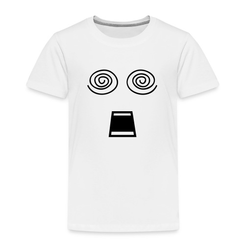 Japanese Anime Smiley - Kinder Premium T-Shirt
