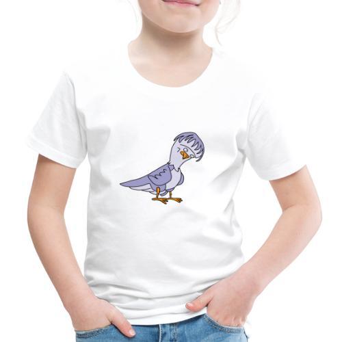 Taube von dodocomics - Kinder Premium T-Shirt