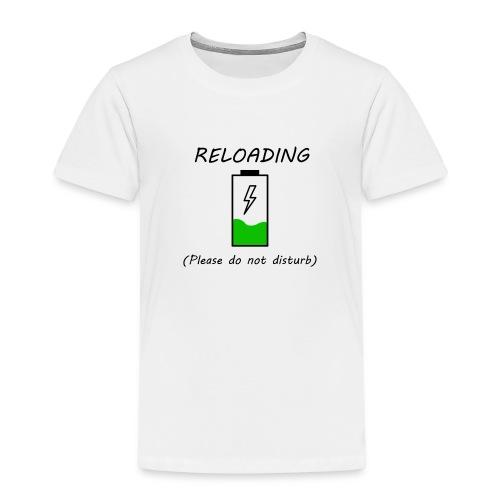 Cargando - Camiseta premium niño