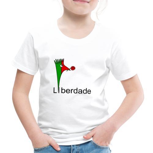 Galoloco - Liberdaded - 25 Abril - Kinder Premium T-Shirt