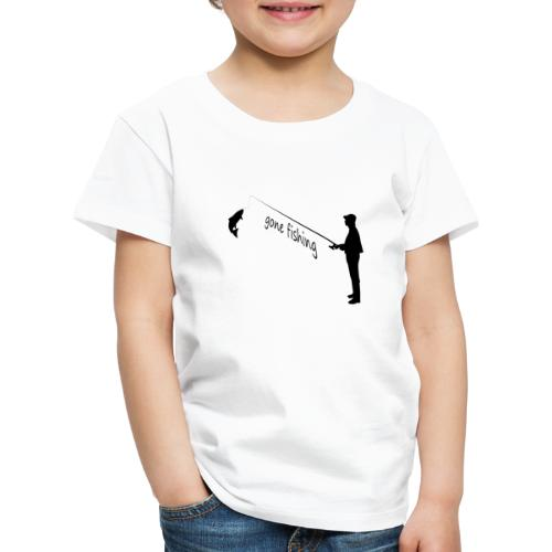 Angler gone-fishing - Kinder Premium T-Shirt