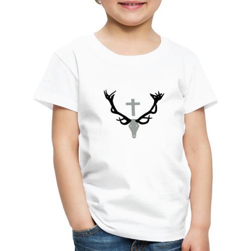 Hirschgeweih - Kinder Premium T-Shirt