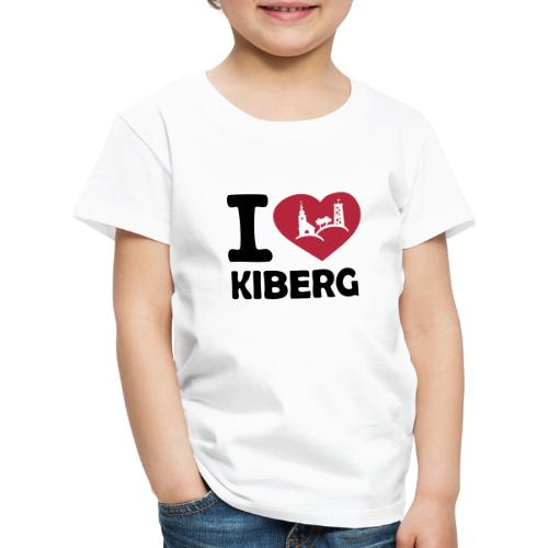 I love Kiberg - Kinder Premium T-Shirt