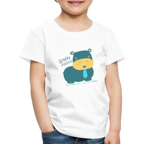 Baby hippo - Camiseta premium niño