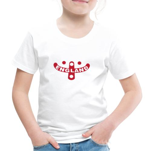 England Supporters Smile - Kids' Premium T-Shirt