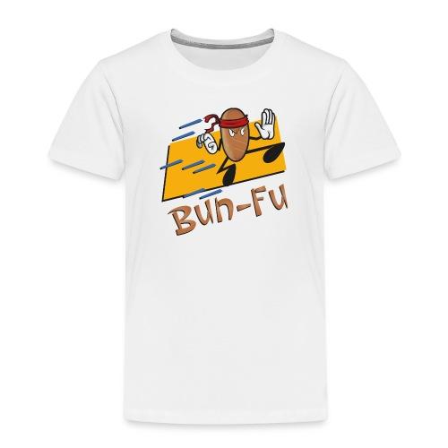 La leggenda di Bun Fu panino kung fu (Doubleface) - Maglietta Premium per bambini