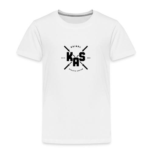 K.A.S. Logo black - Kinder Premium T-Shirt