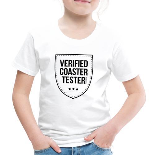 Badge de testeur de montagnes russes vérifié - T-shirt Premium Enfant