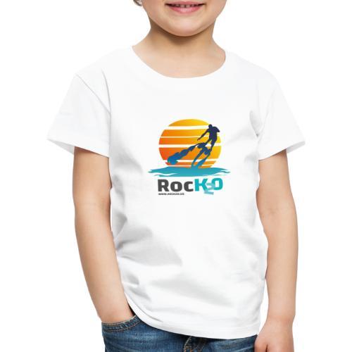 Rock2O Flyboard Sunset - Kinder Premium T-Shirt