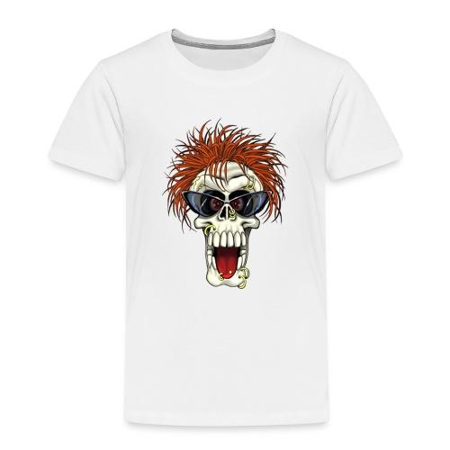 Calavera metalera - Camiseta premium niño
