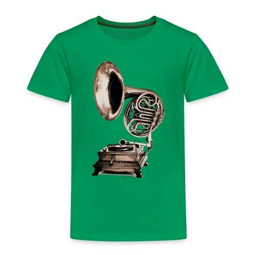 Grammo-Horn - Kinder Premium T-Shirt