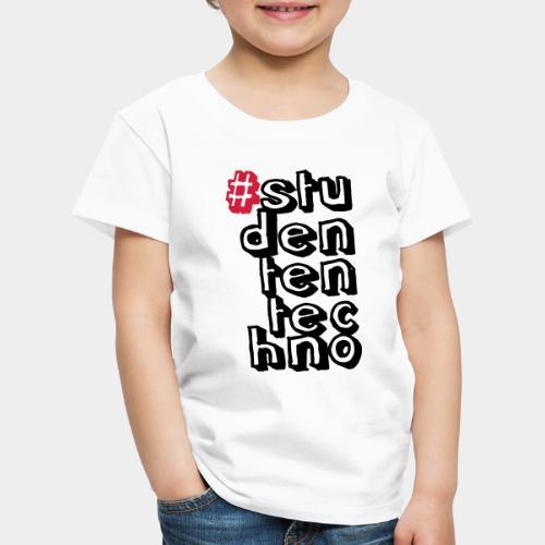 #studententechno (groß) - Kinder Premium T-Shirt