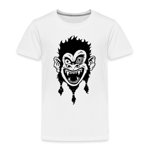 Crazy Monkey - Kinder Premium T-Shirt