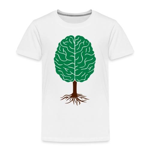 Brain tree - Kinderen Premium T-shirt