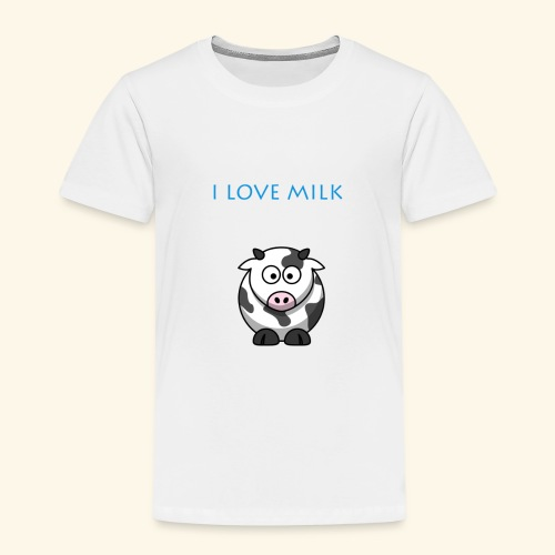 I LOVE MILK GARCON - T-shirt Premium Enfant