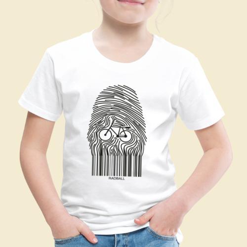 Radball | Fingerprint - Kinder Premium T-Shirt