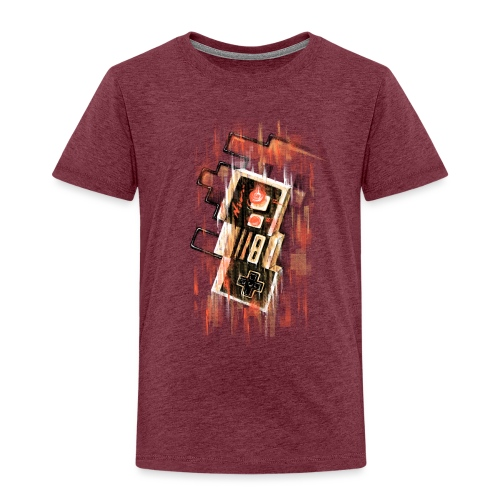Blurry NES - Kids' Premium T-Shirt