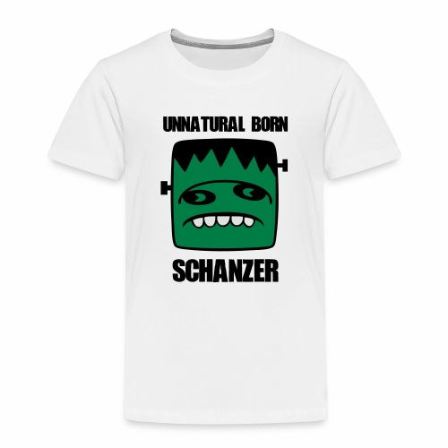 Fonster unnatural born Schanzer - Kinder Premium T-Shirt