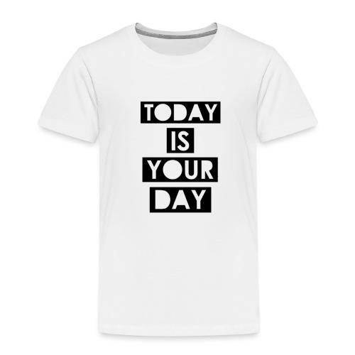 Official Design Kompas Today is your day - Kinderen Premium T-shirt