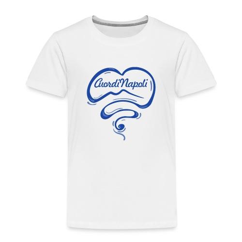 New Logo CuordiNapoli Blu - Maglietta Premium per bambini